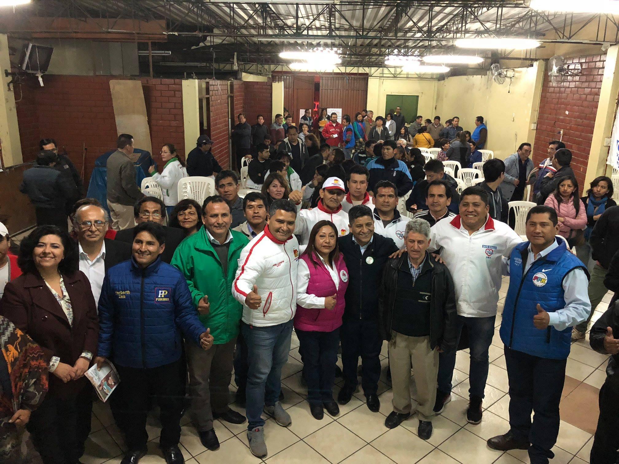 IDL participó en encuentro de candidatos a la alcaldía de Villa María del Triunfo