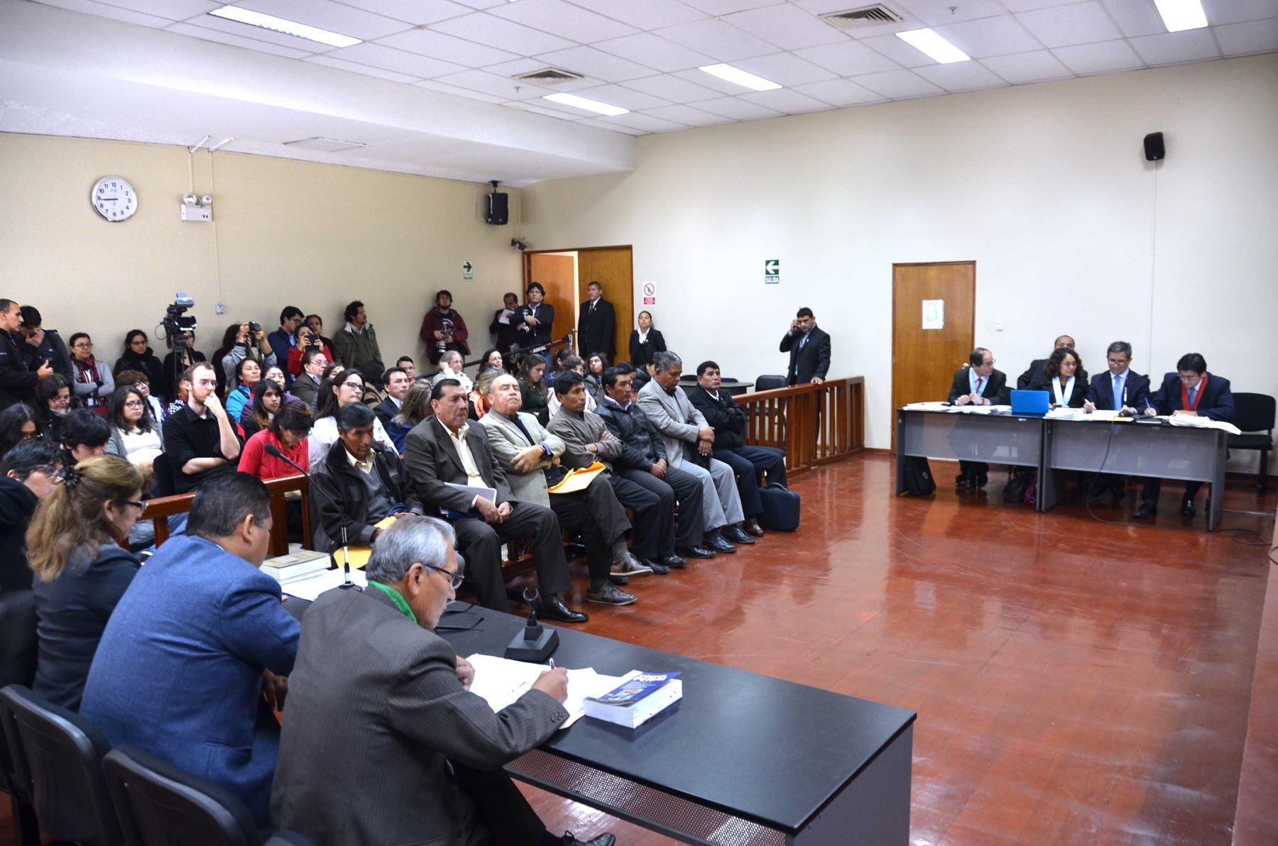 Audiencias de juicio oral en caso Manta y Vilca serán públicas (Andina)