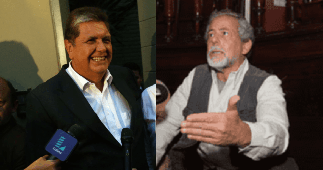 Alan García y Gustavo Gorriti intercambian insultos por Odebrecht (Pueblo y Sociedad Noticias)