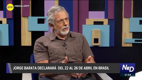 """Gorriti: Barata tuvo relación de negocios con Toledo y Humala, """"con García tuvo una real amistad"""" (RPP)"""