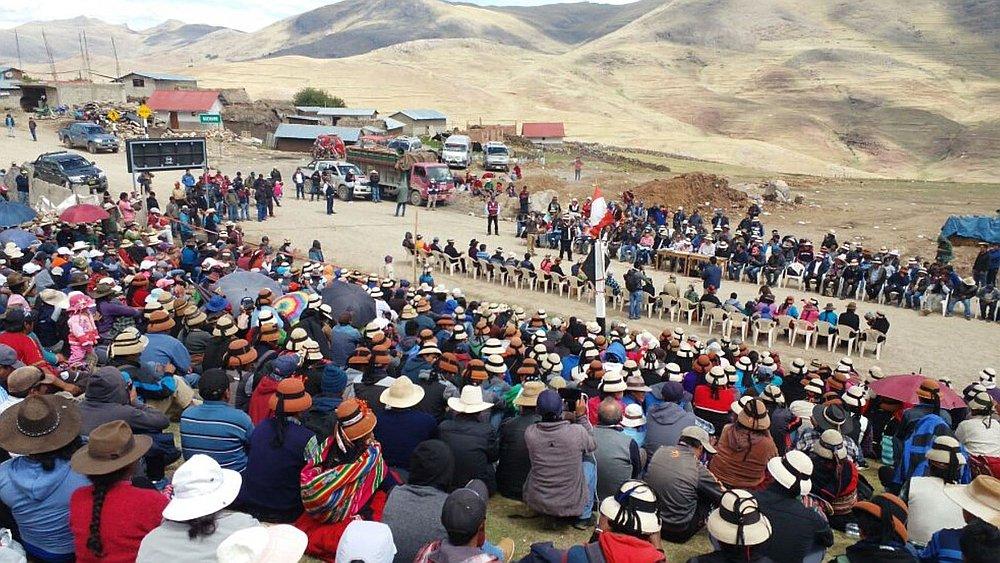 Rechazan represión como opción ante grave conflicto social en Perú (Prensa-Latina)