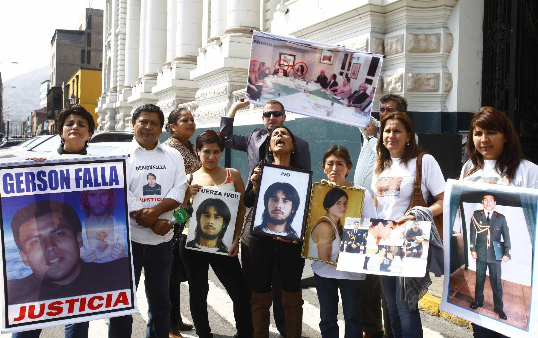 Caso Gerson Falla: se busca condena para todos los policías implicados