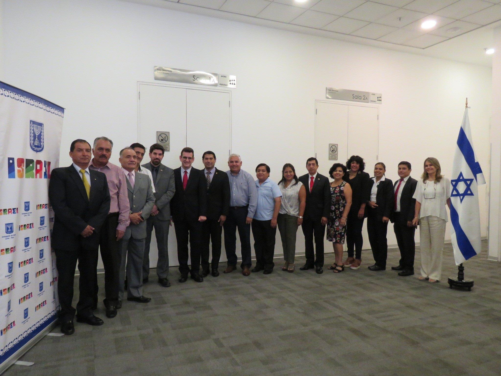 Expertos israelíes dan conferencia sobre seguridad ciudadana en Lima