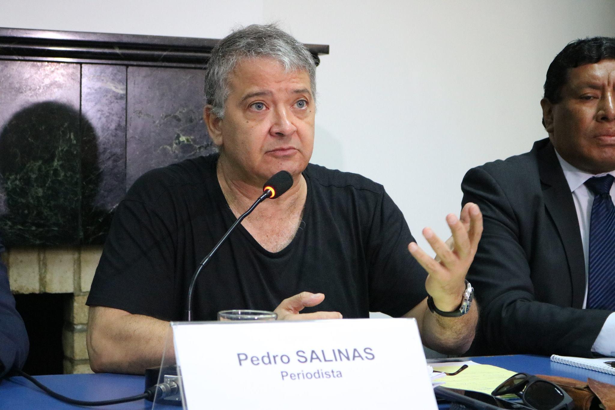 """Caso Sodalicio: """"Este no es una denuncia contra Pedro Salinas o Paola Ugaz, sino contra el periodismo"""""""