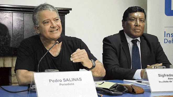 Pedro Salinas dice que denuncia del Sodalicio es contra el periodismo (La República)