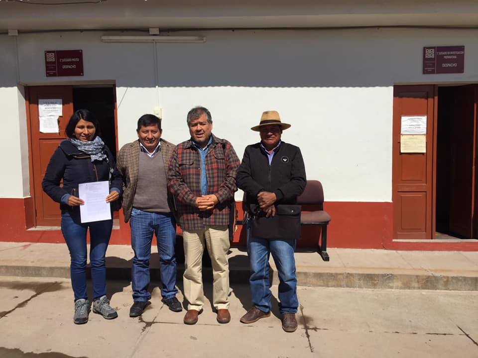 Abogados del IDL viajan a Espinar para verificar estado de demandas presentadas