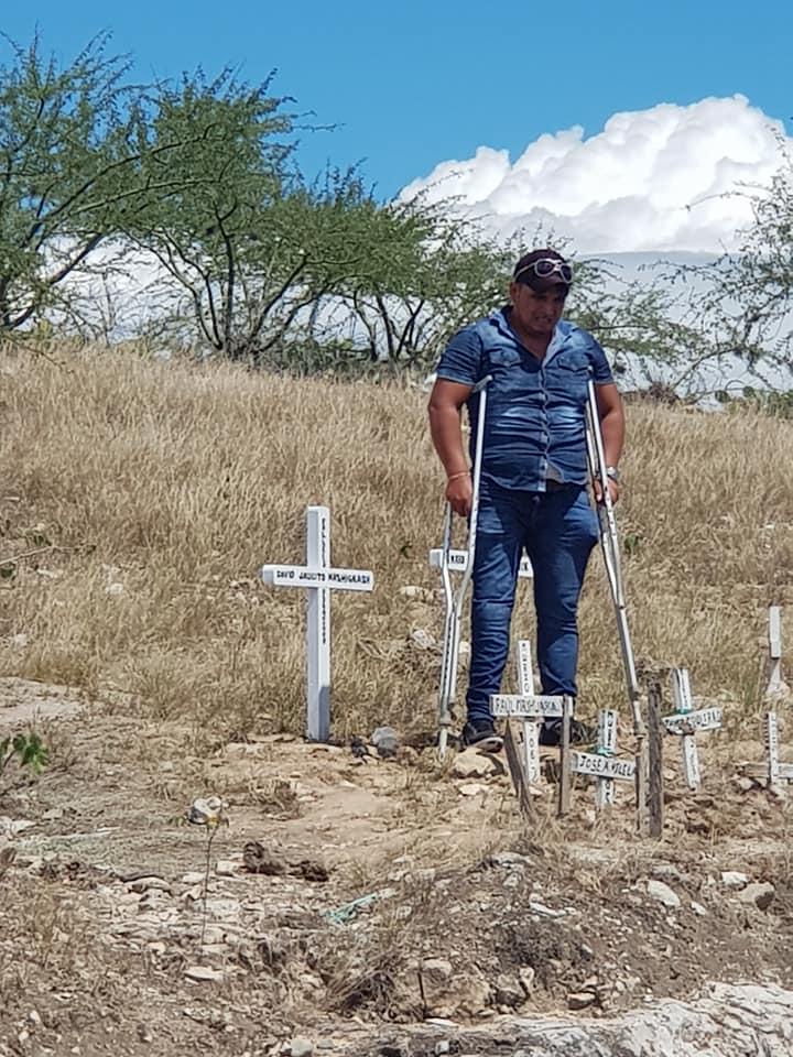 Abogado del IDL y su defendido Jhon Estela en Bagua a 10 años de los enfrentamientos en la Curva del Diablo