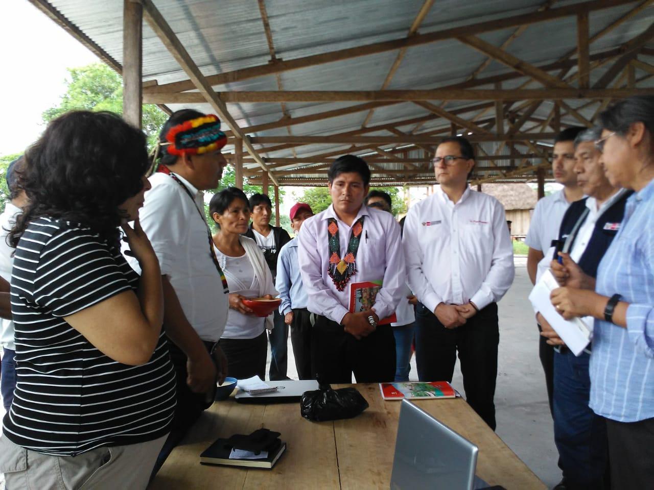 IDL participó de mesa de diálogo entre comunidad wampis y el Estado