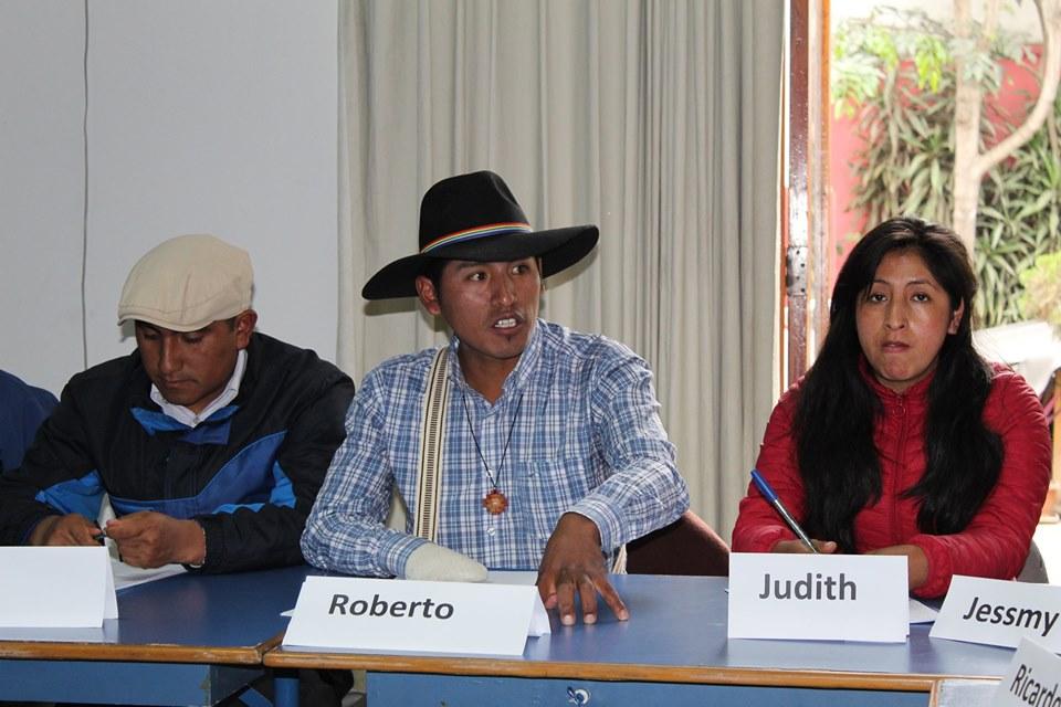 Jóvenes líderes de pueblos indígenas de diferentes regiones se capacitan en Lima