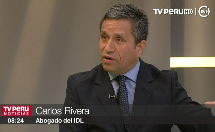 Carlos Rivera: «Blume va a liberar a Keiko, no me queda la menor duda» (Lucidez)