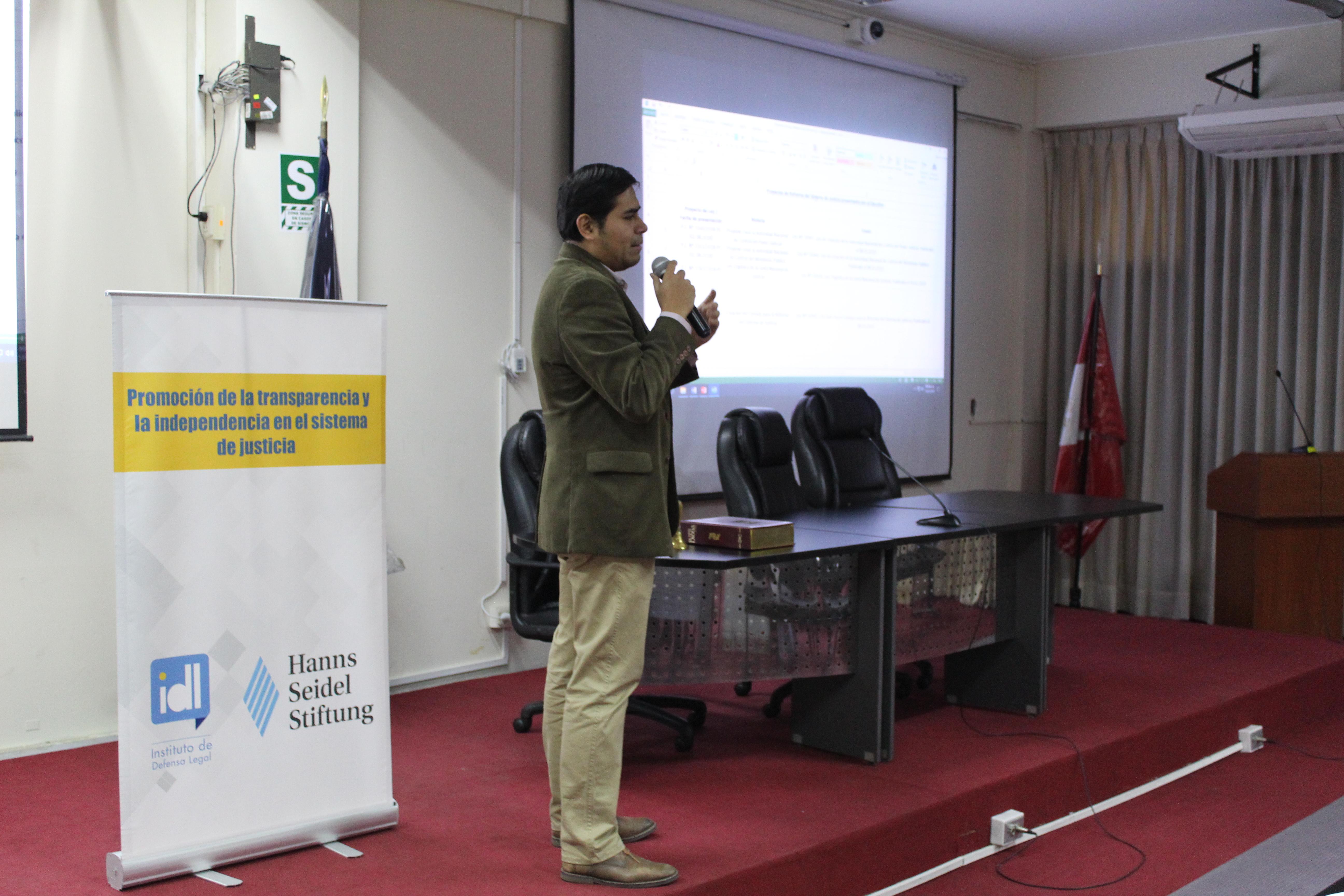 Justicia Viva realizó el segundo taller de capacitación a jueces de Lima Norte