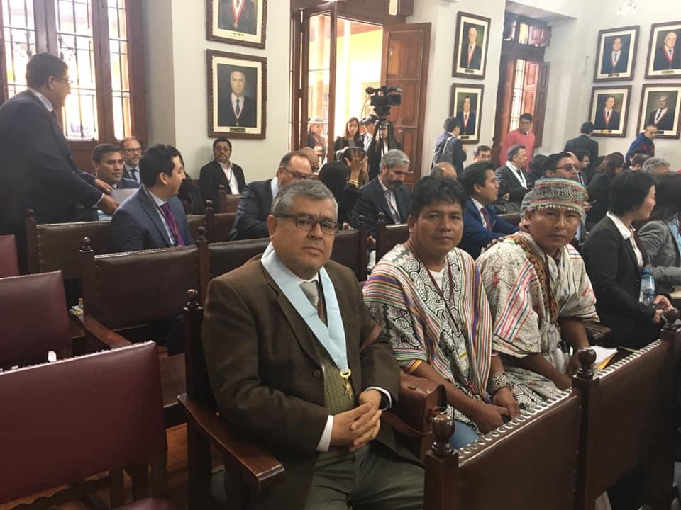 """En audiencia del TC: """"Tenemos esperanza en que veredicto final nos dé la razón"""", dicen dirigentes de Santa Clara de Uchunya"""