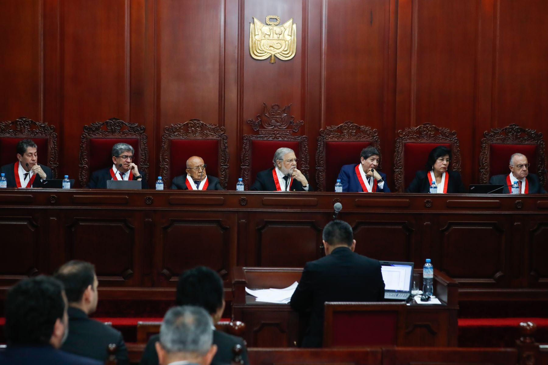Definiciones en el Tribunal Constitucional
