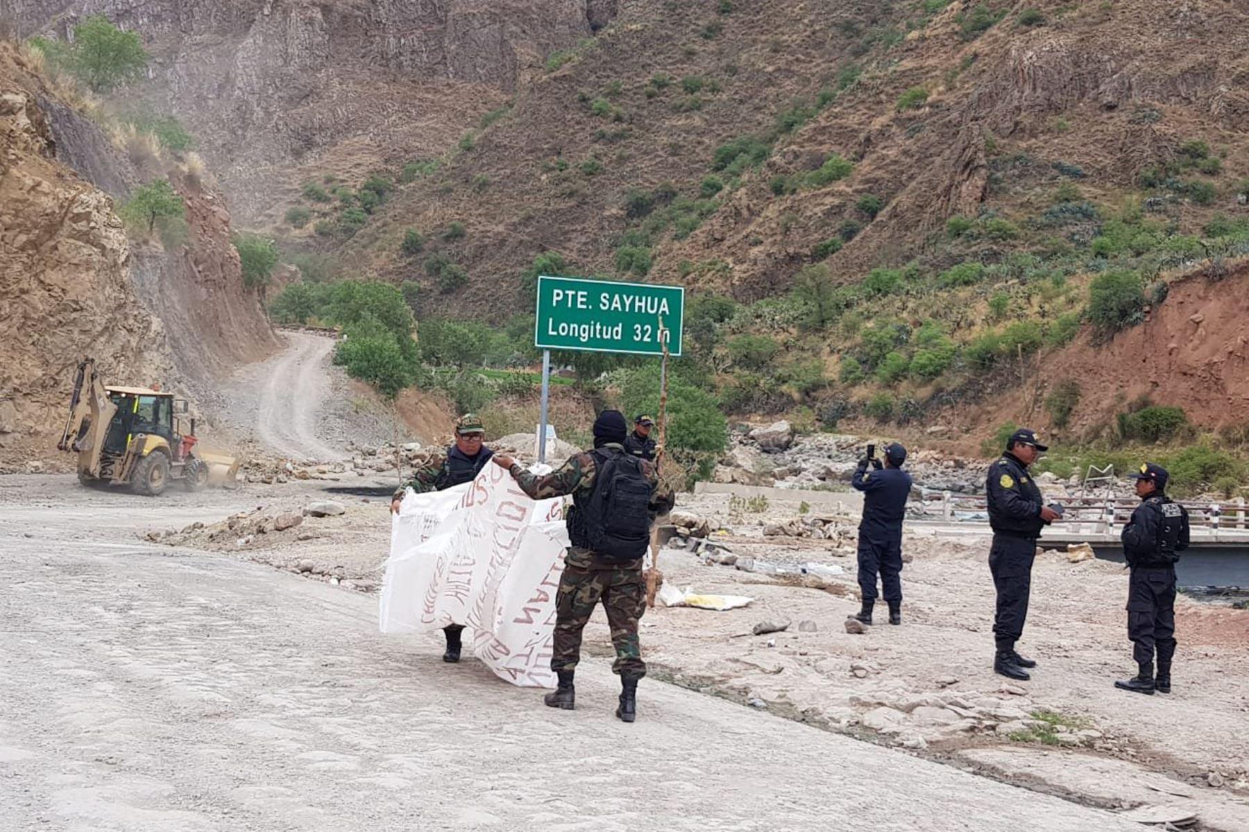 Vuelven a declarar en emergencia parte del corredor vial minero
