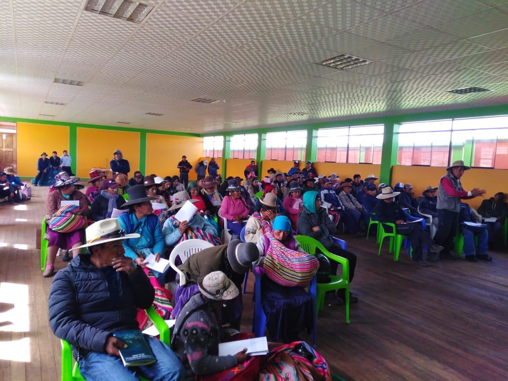 """Maritza Quispe: """"Las comunidades afectadas  por el proyecto minero de Coroccohuayco deben ser consultadas antes de que se apruebe la modificación del EIA"""""""