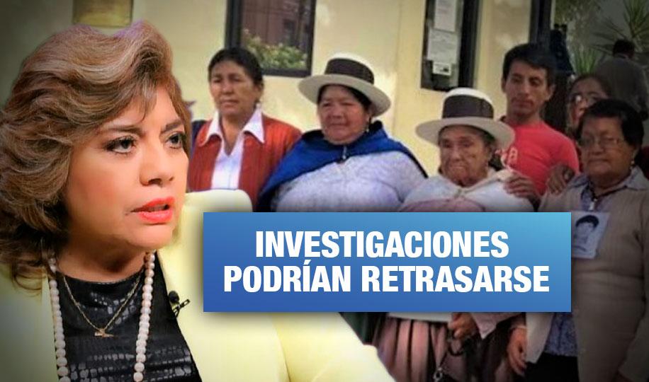 Zoraida Ávalos desactiva dos fiscalías a cargo de casos de violación de derechos humanos (Wayka.pe)