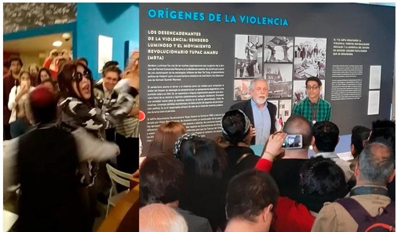 Fujimoristas de La Resistencia atacan verbalmente a Gorriti en visita al LUM (La República)
