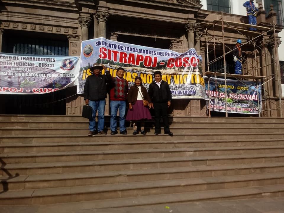 Espinar: Comunidades piden que se haga efectiva sanción para juez de Yauri por no resolver demandas