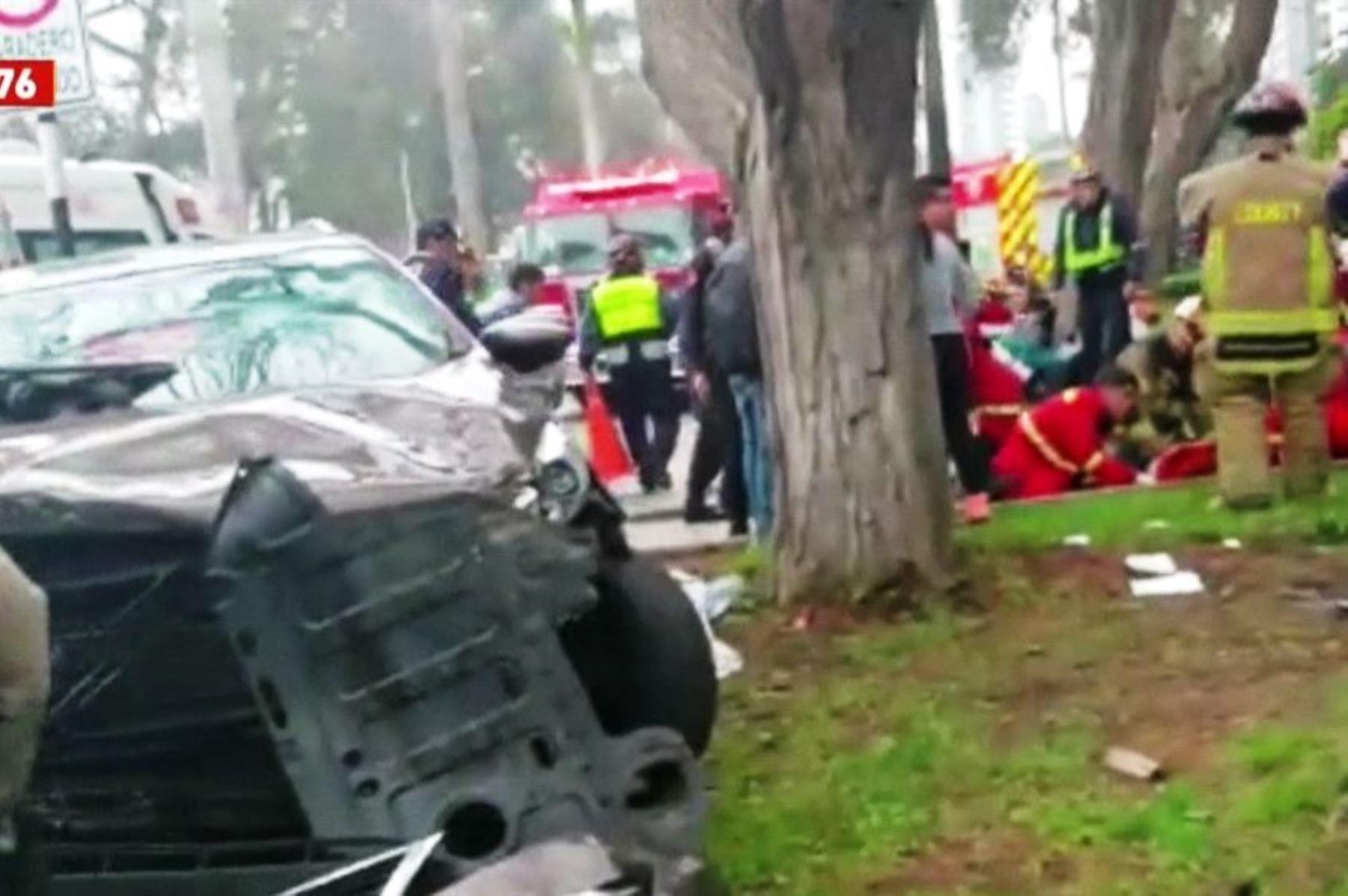 Accidentes de tránsito: Lima es de lejos la ciudad más riesgosa