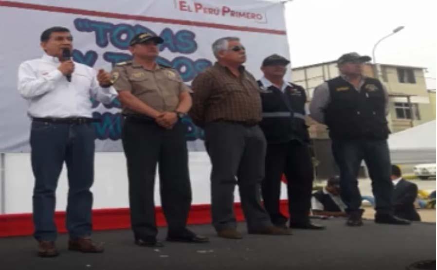 Ministro del Interior se compromete a agilizar investigaciones en Villa El Salvador