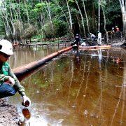 Las batallas judiciales de las comunidades afectadas por el derrame de petróleo en Cuninico