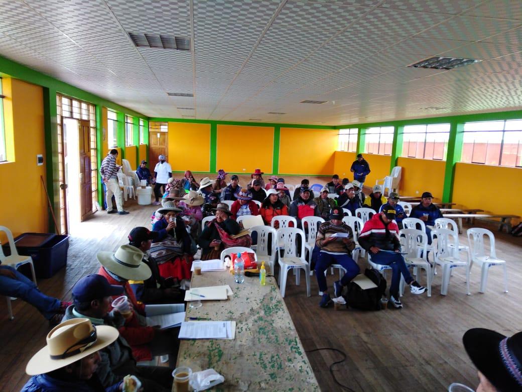 Espinar: Reunión de consulta previa de gran proyecto minero fue suspendida por inasistencia del Ministerio de Cultura