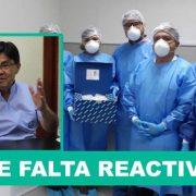 """Coronavirus: Director del INS asegura que """"no hay reactivos"""" para detectar el COVID-19 (El Popular)"""