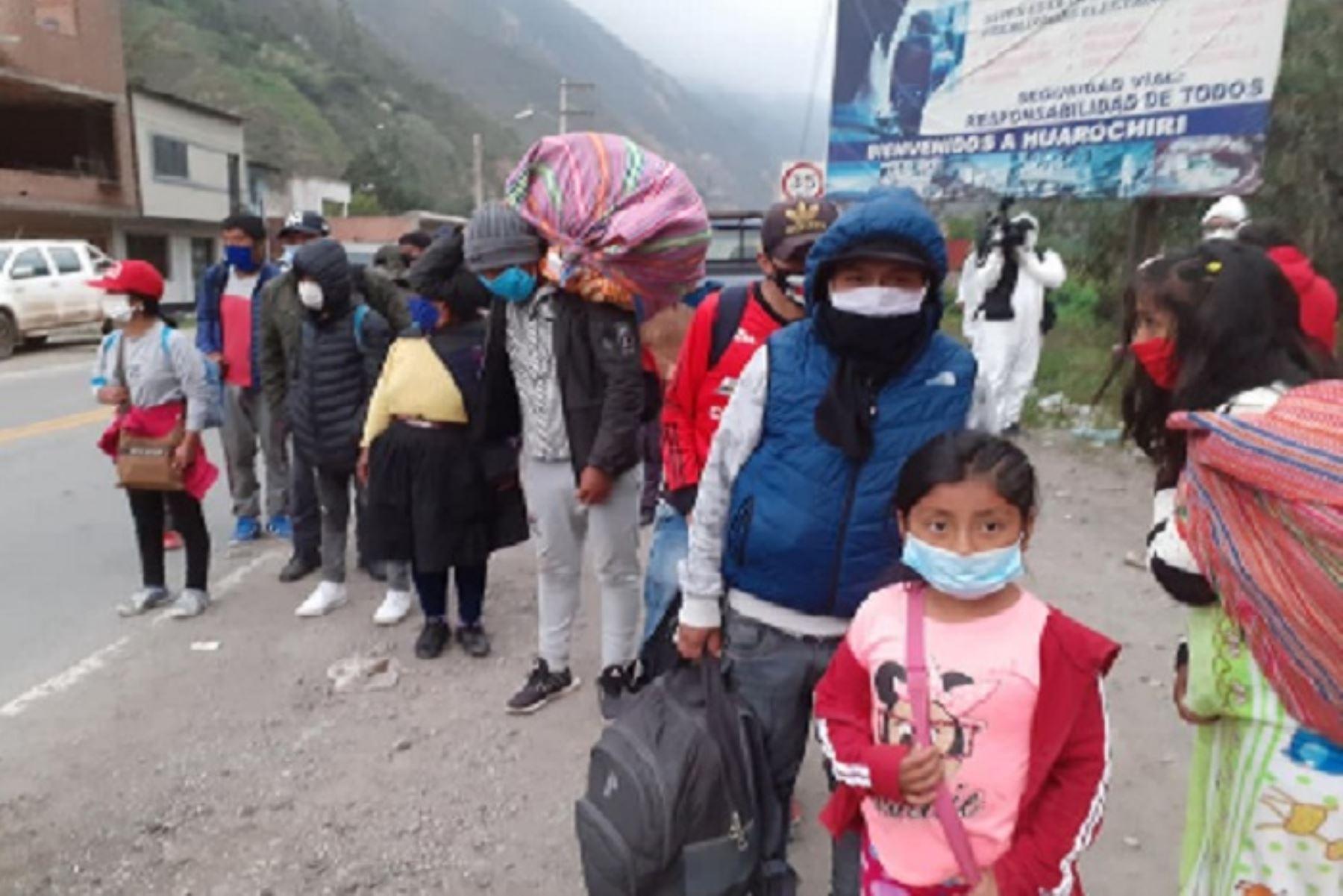 Corredores migratorios interregionales: los retornantes olvidados fuera de Lima