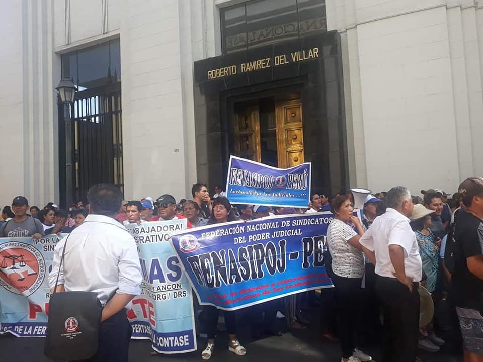 Trabajadores del Poder Judicial anuncian protesta por presunta exposición al contagio