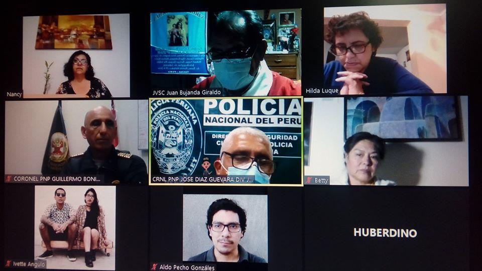Conversatorio con las juntas vecinales de Lima, Huaral, Cañete, Arequipa y Tacna