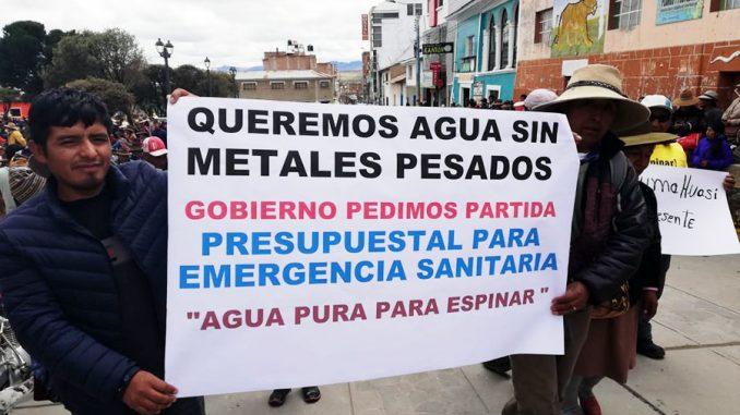 ¿Es responsable la minería de la contaminación con metales pesados en Espinar?
