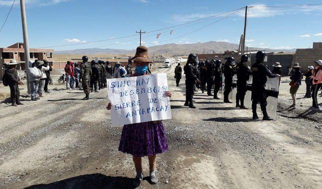 Debe investigarse el uso arbitrario de la fuerza en el lote 95 y en las protestas de Espinar