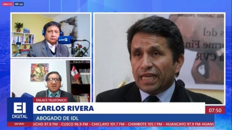 """Rivera: """"No existe calificación que pudiera dar pie a la vacancia presidencial"""""""