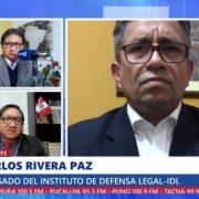 Carlos Rivera: Ollanta Humala podría ser denunciado por colusión y asociación ilícita