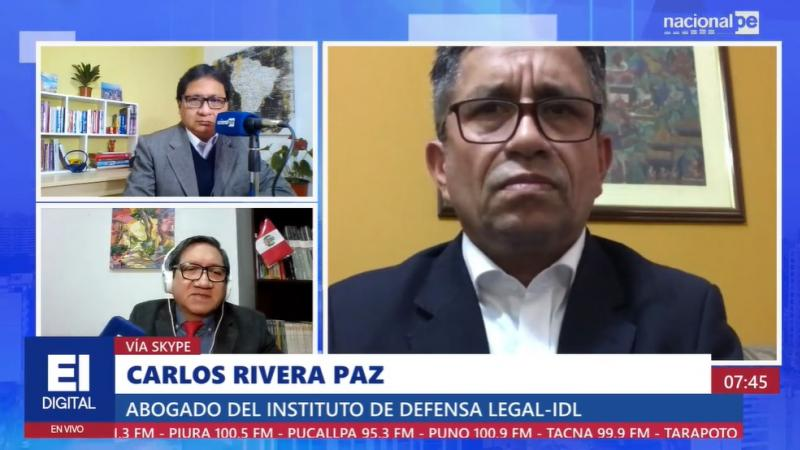 """Rivera: Expresiones de Chávez constituyen racismo incluso """"contra el pueblo boliviano"""""""