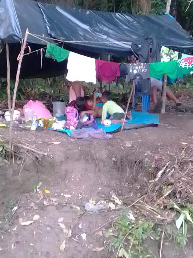 Comunidad de Loreto bloquea río Marañón en espera de representantes del Estado