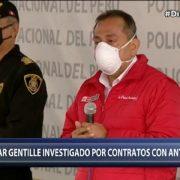 Ministro César Gentille es investigado por conteatos con empresa de Antonio Camayo