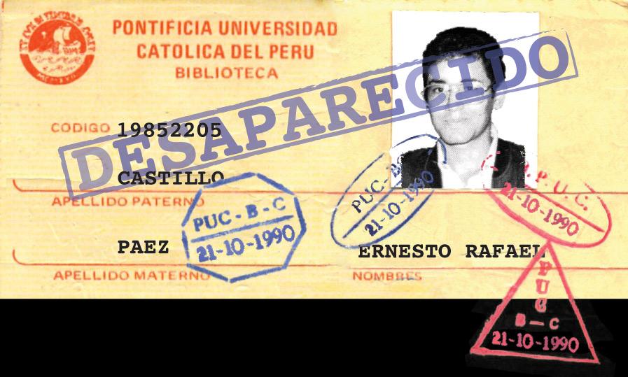 30 años de la desaparición de Ernesto Castillo Páez