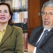 Elvia Barrios y Héctor Lama en carrera por presidir el Poder Judicial: algunos puntos clave