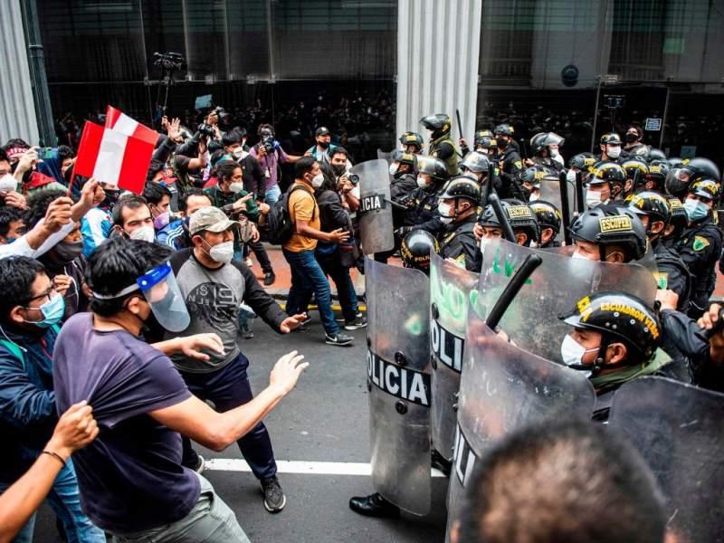 Tomando las calles: represión violenta en una lucha que va a continuar
