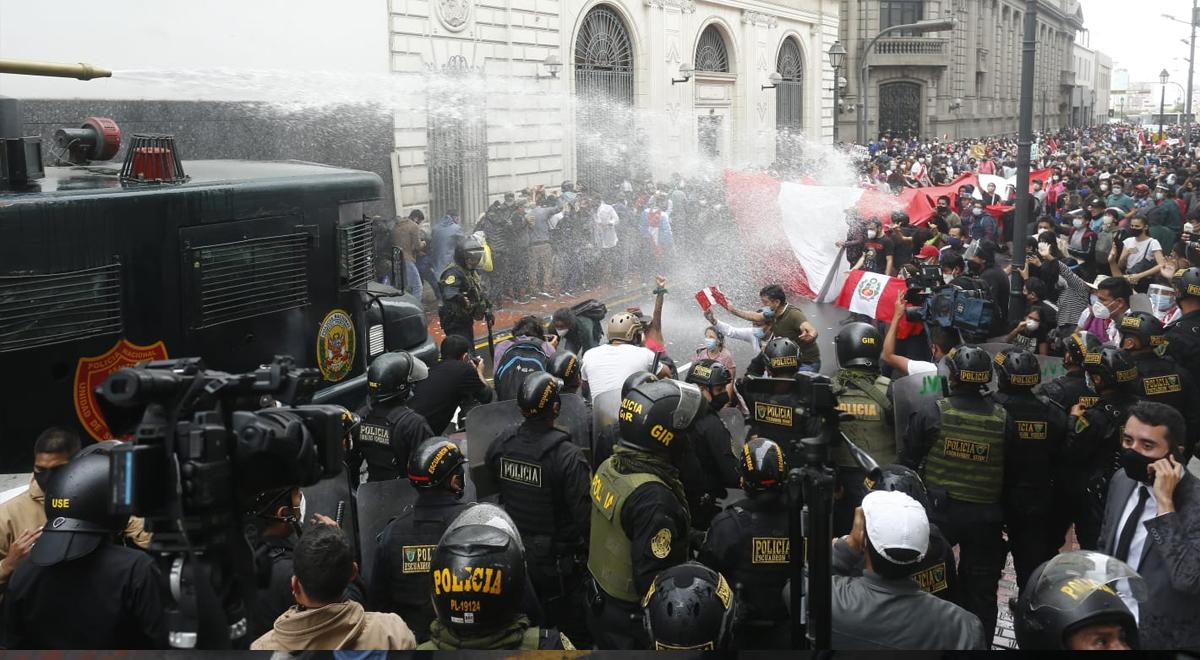 Foul contra el Perú: represión brutal y violencia contra la protesta social
