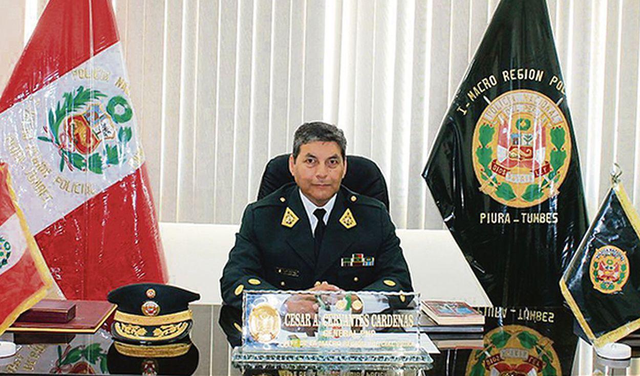 Precisan que nuevo comandante general de la PNP no estuvo implicado en caso Falla