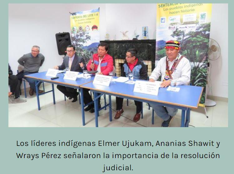 Nuevo sucesor de apu Santiago Manuin en presidencia del Consejo Especial Permanente del Pueblo Awajun