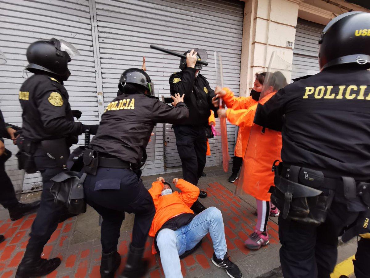Violencia de género durante las represiones policiales