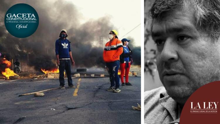 ¿Extorsión o derecho a la protesta?