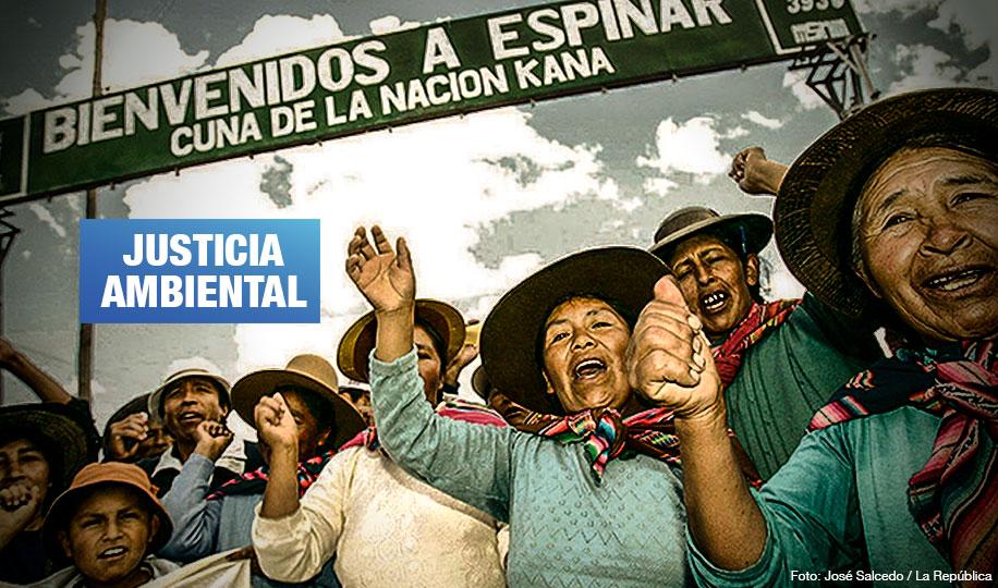 Espinar: Minsa deberá acatar fallo judicial para atender a comunidades afectadas por metales pesados