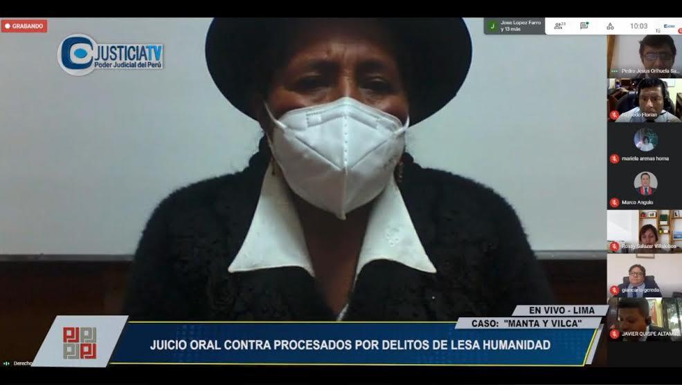 Caso Manta y Vilca: Se reanuda juicio con declaración de víctima de violencia sexual