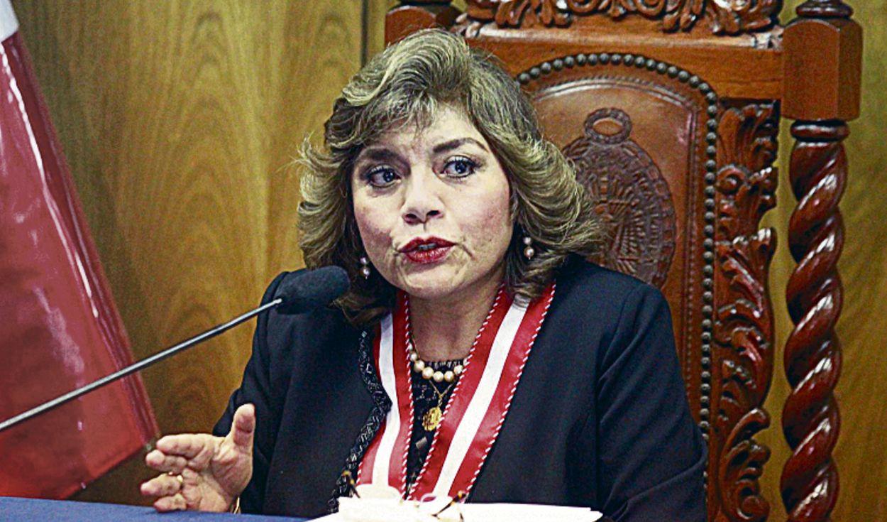 Fiscal de la Nación, Zoraida Ávalos, en la mira del Congreso