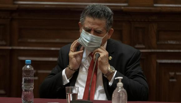 Fiscal investigará participación de resguardo policial de Manuel Merino en marchas