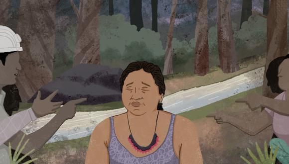 Augostina Mayán: la defensora awajún amenazada por mineros ilegales en el Cenepa
